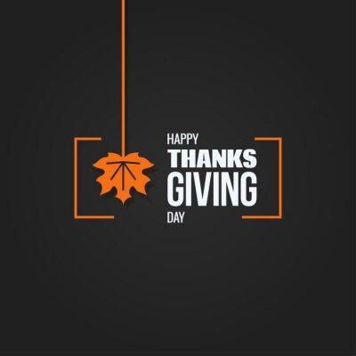 Image fond de conception de logo de thanksgiving automne