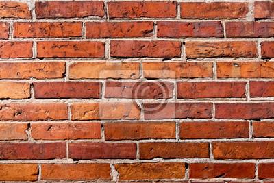Fond De Mur De Brique Texture De Pierres Rouges Blocs De Construction Peintures Murales Tableaux Myloview Fr