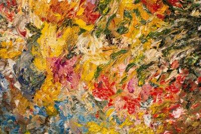 Image Fond de peinture à l'huile. Concept d'art.
