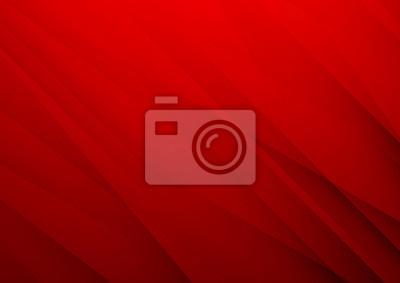 Image Fond de vecteur rouge abstrait avec des rayures