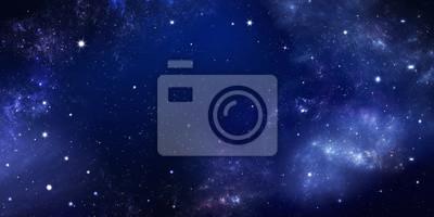 fond du ciel nocturne avec des étoiles