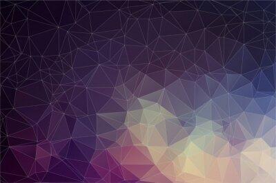 Image Fond géométrique colorée avec des triangles
