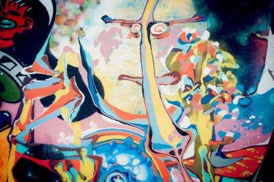 Image Fond peinture abstraite