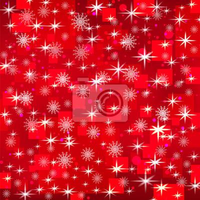 Fond rouge de vacances de Noël