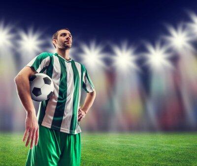 Image Football-joueur, balle