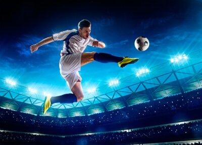 Image Footballeur en action