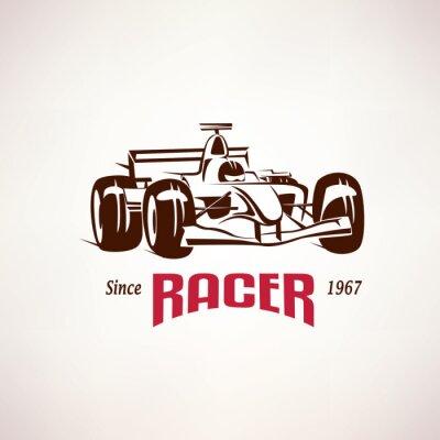 Image Formule, course, voiture, emblème, course, bolide, Symbole