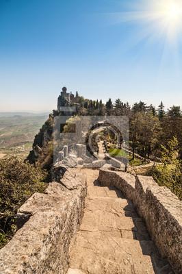Forteresse de Guaita (Rocca della Guaita), le château de Saint-Marin Re