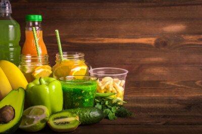 Fruits et légumes. Concept Detox