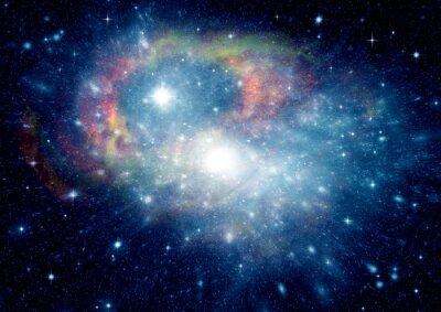 Image Galaxie dans un espace libre