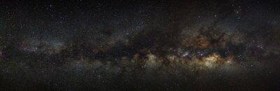 Image Galaxie laiteuse sur un ciel nocturne, photographie longue exposition, avec