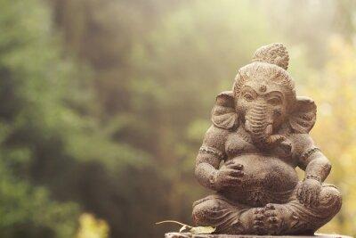 Image Ganesha, déité, pierre, statue