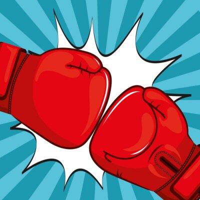Image Gants de boxe design