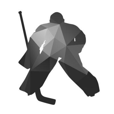 Image Gardien de but de hockey sur glace