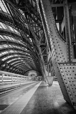 Image Gare centrale de Milan - Binary