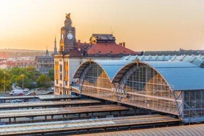 Image Gare principale de Prague, Hlavni Nadrazi, Prague, République tchèque