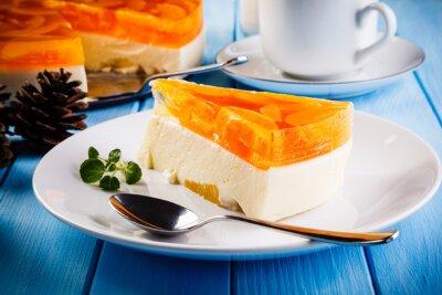 Image Gâteau au fromage aux fruits