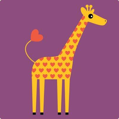Image girafe vecteur