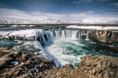 Image Godafoss cascade en Islande