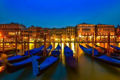 Image Gondola sur grand canal, Venise, Italie