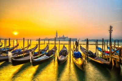 Image Gondoles à Venise, Italie