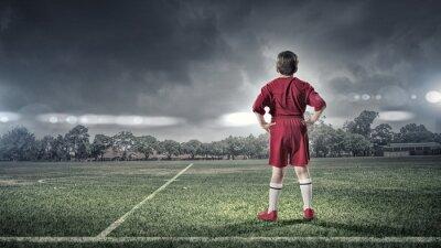 Image Gosse, Garçon, football, champ