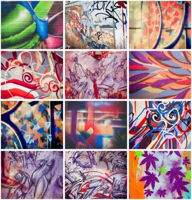 Image Graffiti colorés
