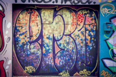 Image Graffitis couleurs pétantes