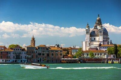 Image Grand Canal et Basilique Santa Maria della Salute, Venise, Italie