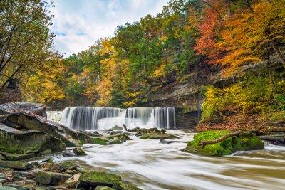 Image Great Falls avec la Grande-couleur