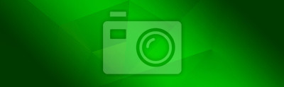 Image Green background for wide banner, design template