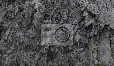Gris Rocher Montagne Panorama Fond Pierre Texture Peintures Murales Tableaux Teide Ardoise Durable Myloview Fr