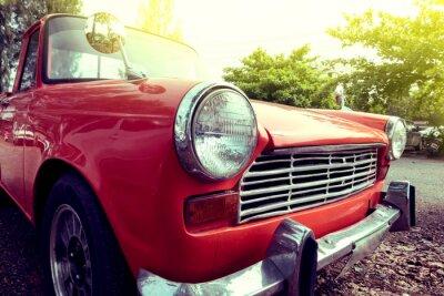 Image Gros plan, phare, coloré, classique, voiture