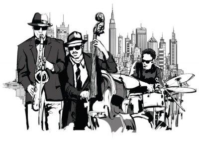 Image Groupe de jazz à New-York