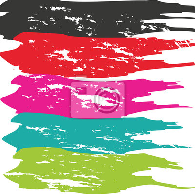 Image Grunge, brosse, course Vector Brush Stroke. Bouton de brosse en détresse. Brush Stroke. Bouton texturé moderne de brosse. Brosse sèche.