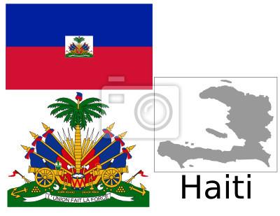 Haïtienne noir chatte