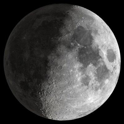 Image Half Moon avec des détails précis.