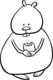 Enfants avec jeu animaux de dessin anim peintures murales - Hamster dessin anime ...