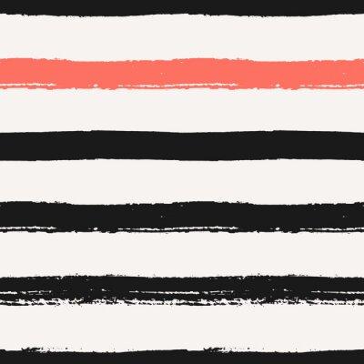 Image Hand Drawn sans soudure Stripes Motif