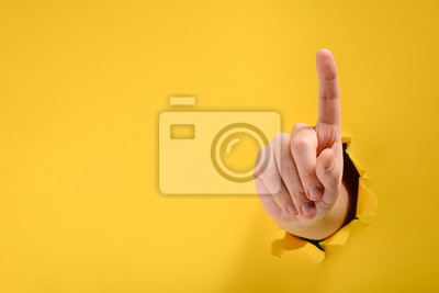 Image Hand pointing up