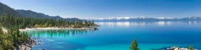 Image Haute résolution panorama du lac Tahoe avec vue sur parc sable Harbor State