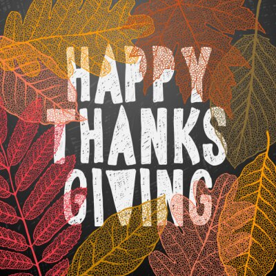 Image Heureux, thanksgiving, jour, automne, vacances, fond