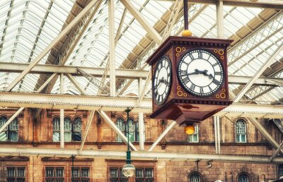 Image Horloge de gare antique
