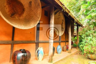 Huenier de terre, Baan Doi Din Deang, Chiang Rai, Thaïlande