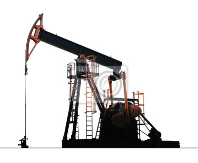 huile isolé pompe de puits