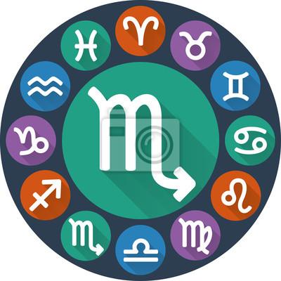 Icone plat astrologique