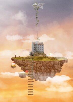 Image Île dans le ciel