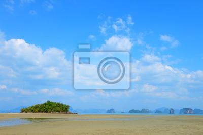 Île de plage, Yao Nai île, Phand Nga, Thaïlande.