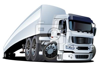 Dessin animé camion