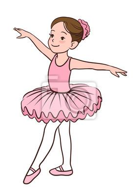 Image Illustration Vectorielle De Dessin Animé Dune Petite Fille Souriante